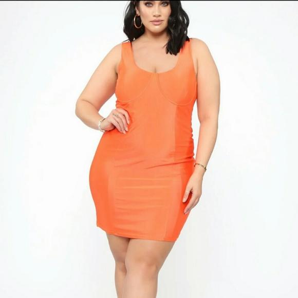 Fashion Nova Dresses & Skirts - Fashion Nova Plus Size Mini Dress